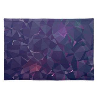 Elegant and Modern Geo Designs - Violet Amethyst Placemat
