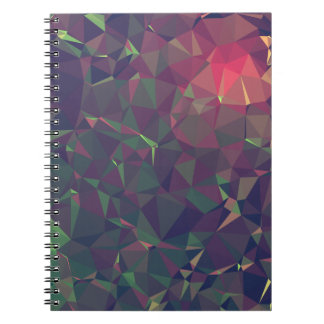 Elegant and Modern Geo Designs - Yosemite Sunset Notebook