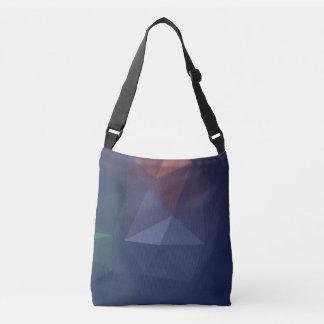 Elegant and Modern Geometric Art - Destiny Soul Crossbody Bag