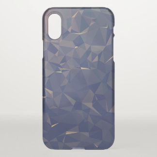 Elegant and Modern Geometric Art - Ocean Bronze iPhone X Case