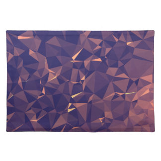 Elegant and Modern Geometric Art - Tropical Orchid Placemat