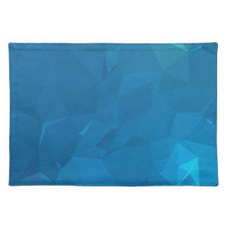 Elegant and Modern Geometric Designs - Blue Placemat