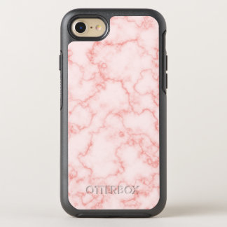 Elegant and Trendy Pink Marble OtterBox Symmetry iPhone 8/7 Case