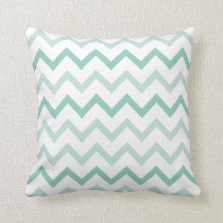 Elegant and tuna green cushion