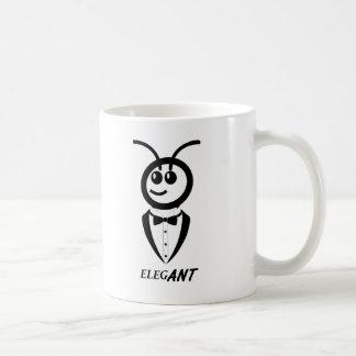 Elegant Animal Pun Mug