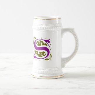 Elegant antique medieval letter S Coffee Mug