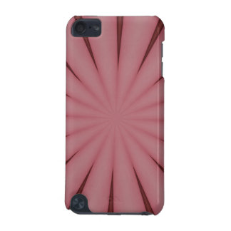 Elegant Antique Pink Kaleidoscope Design iPod Touch 5G Covers