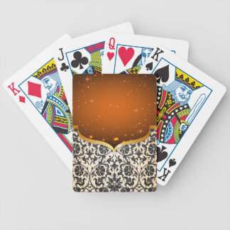 Elegant Arabian Bicycle Playing Cards