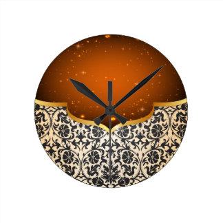 Elegant Arabian Round Clock