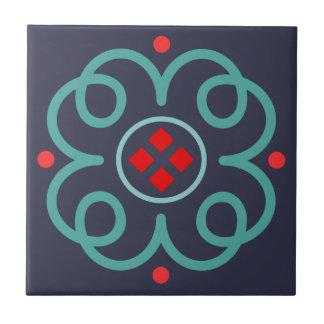Elegant Art Deco Ceramic Tile