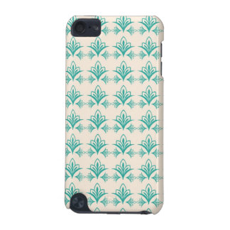 Elegant Art Nouveau Abstract Floral iPod Touch 5G Covers