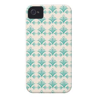 Elegant Art Nouveau Abstract Floral Case-Mate iPhone 4 Cases
