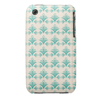 Elegant Art Nouveau Abstract Floral iPhone 3 Covers