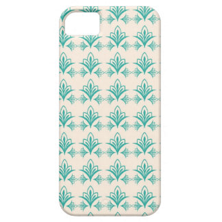 Elegant Art Nouveau Abstract Floral iPhone 5 Case