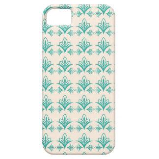 Elegant Art Nouveau Abstract Floral iPhone 5 Cases