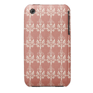 Elegant Art Nouveau Floral iPhone 3 Case