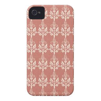 Elegant Art Nouveau Floral iPhone 4 Case