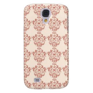 Elegant Art Nouveau Swrly Floral Samsung Galaxy S4 Cases