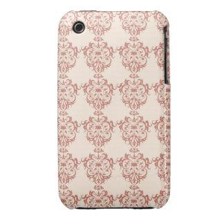 Elegant Art Nouveau Swrly Floral iPhone 3 Cover