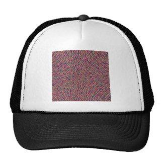 Elegant Artist created Energy Texture GOODLUCK fun Hats
