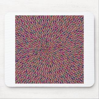 Elegant Artist created Energy Texture GOODLUCK fun Mousepad