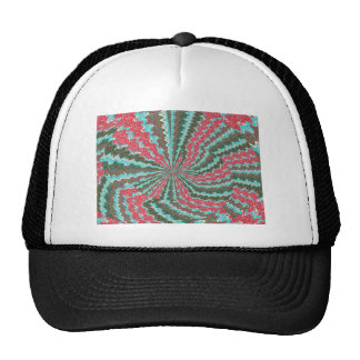 Elegant Artistic Waves Pattern Texture on Gifts 99 Cap