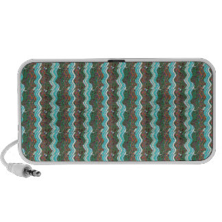 Elegant Artistic Waves Pattern Texture on Gifts 99 PC Speakers