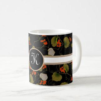 Elegant Asian Floral Coffee Mug