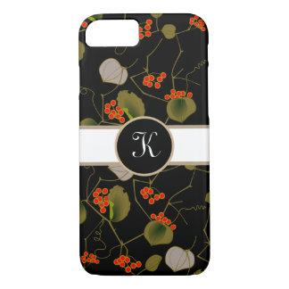 Elegant Asian Floral iPhone 8/7 Case