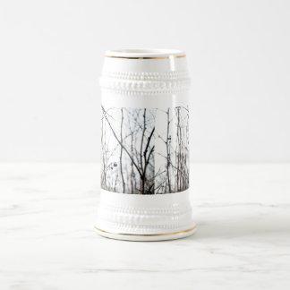Elegant Autumn Branches Beer Steins