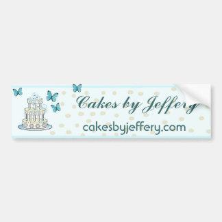 Elegant Bakery Bumpersticker Bumper Stickers