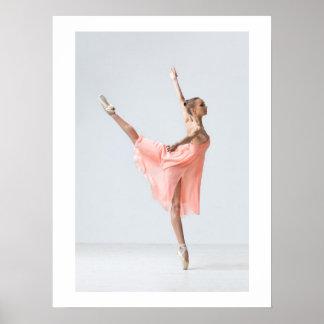 Elegant Ballerina - SRF Poster