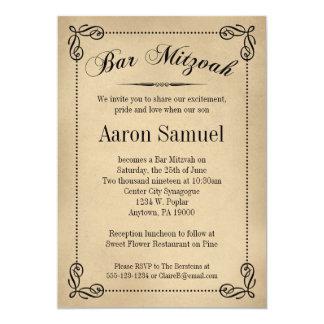 Elegant Bar Mitzvah Invitations