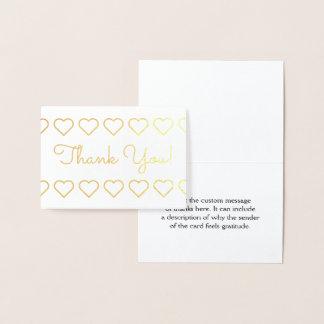 "Elegant, Basic ""Thank You!"" Card"