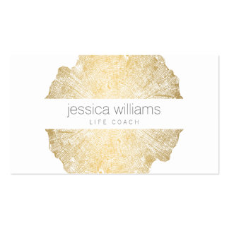 Elegant Beauty Gold Tree Ring Pack Of Standard Business Cards