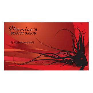 Elegant Beauty Salon Business Card