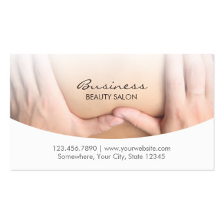 Elegant Beauty Therapy Salon Appointment Pack Of Standard Business Cards