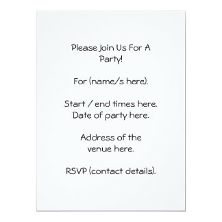 Elegant beige and brown damask pattern. 6.5x8.75 paper invitation card