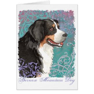 Elegant Berner Card