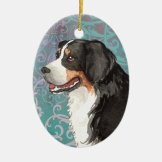 Elegant Berner Ceramic Ornament