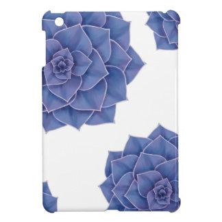 Elegant Big Purple Echeveria Design Case For The iPad Mini