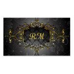 Elegant Black And Gold Vintage Gold Lace Frame
