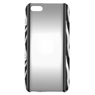Elegant Black and White  Case For iPhone 5C
