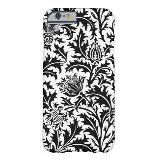 Elegant Black and White William Morris Victorian iPhone 6 Case