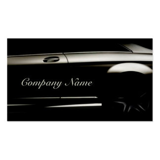 Elegant Black Automotive Business Card