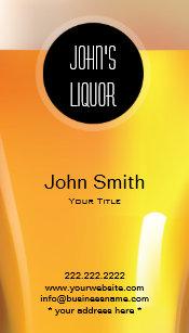 Liquor stores business cards zazzle au elegant black dot liquor storebar business card reheart Images