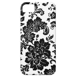 Elegant  Black Floral iPhone 5 Case