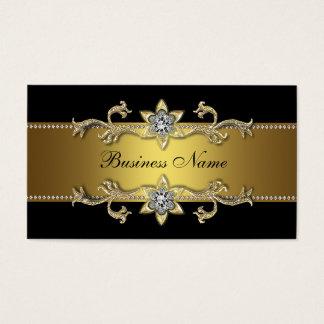 Elegant Black Gold Business Card