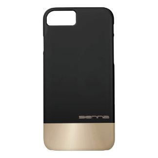 Elegant Black&Nacre Metallic iPhone 7 Case