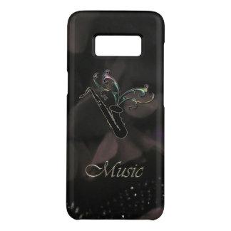 Elegant Black Saxophone Samsung Galaxy S8 Case